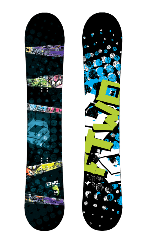 F2 FTWO Snowboard Air 162