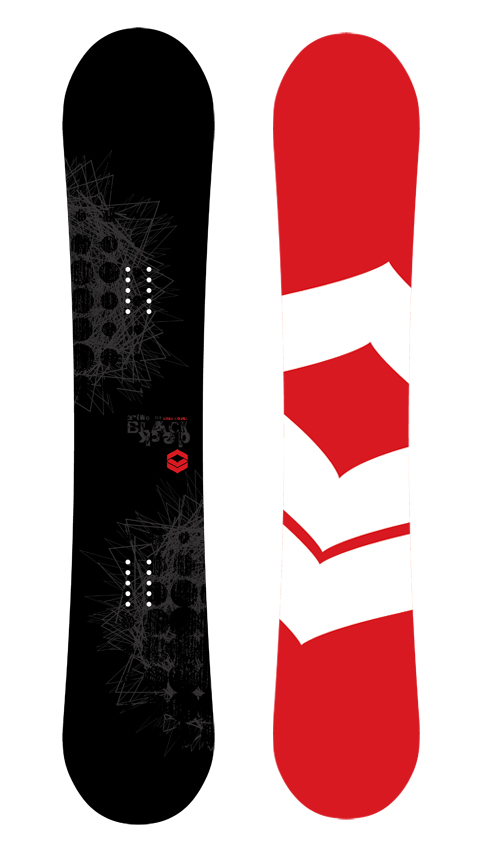 F2 FTWO Snowboard Blackdeck 157