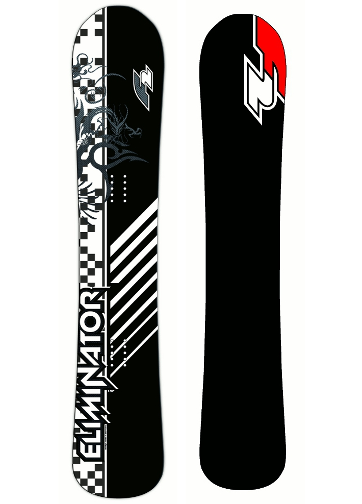 F2 Snowboard Eliminator Carbon Edition 153 2012
