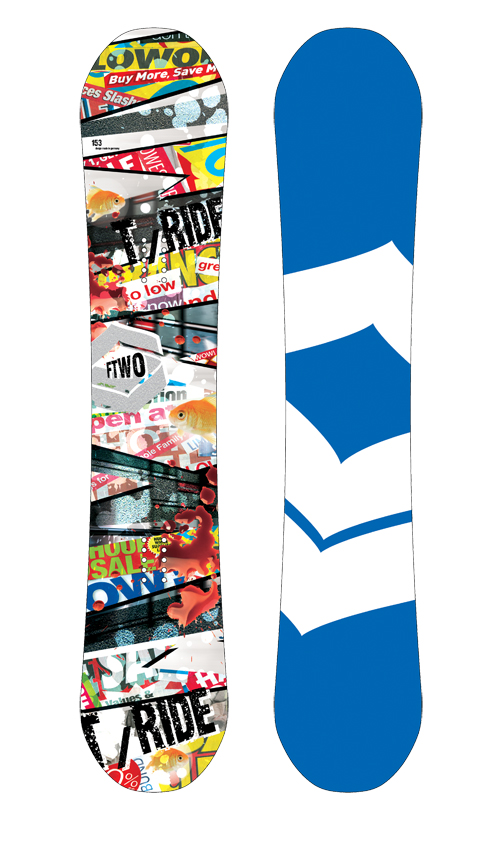 F2 FTWO Snowboard T-Ride 153