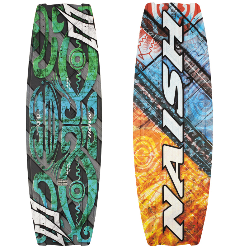 Naish Kiteboard dub 136x43 2015 incl. Apex Bindung