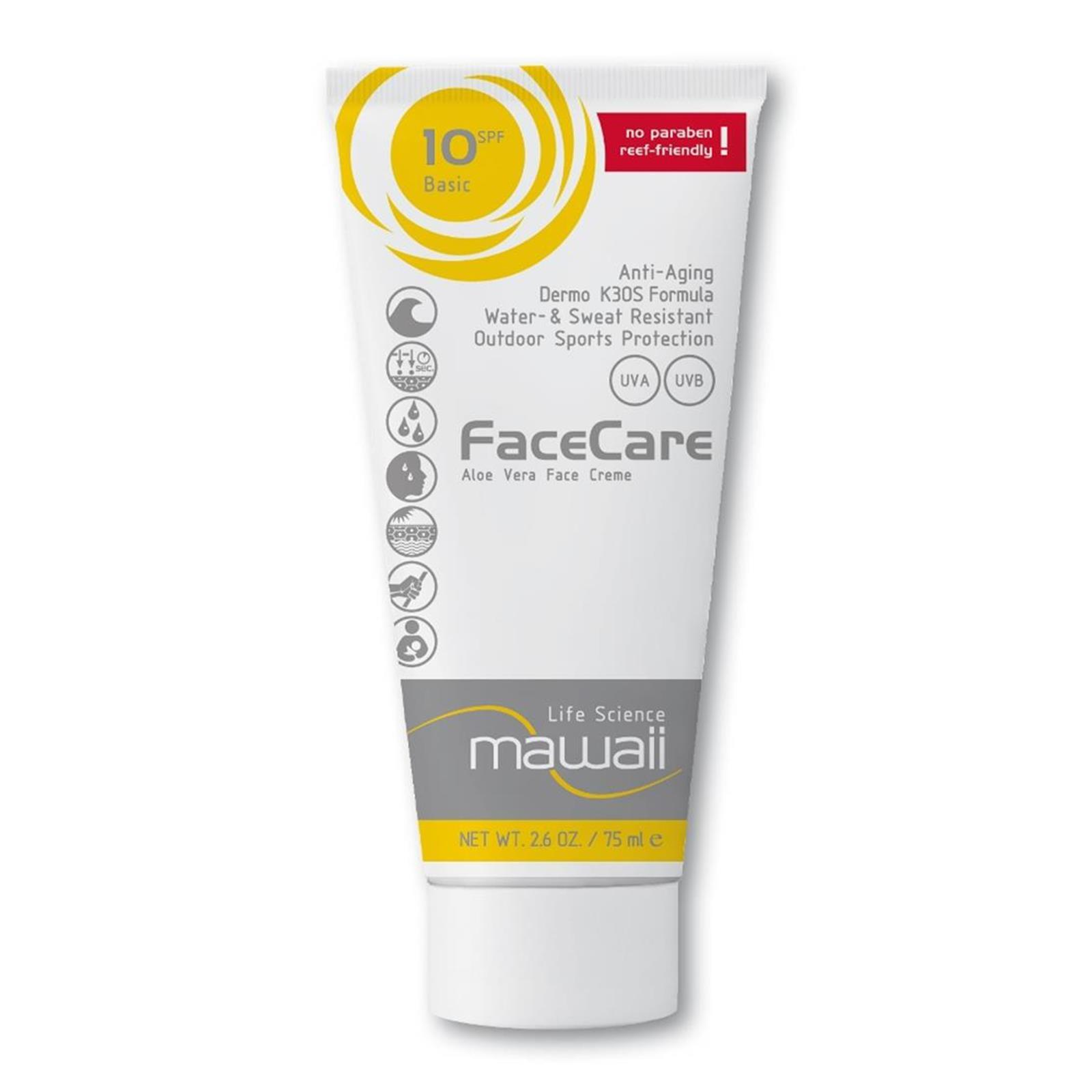 mawaii FaceCare SPF 10  K3OS Formula 75ml