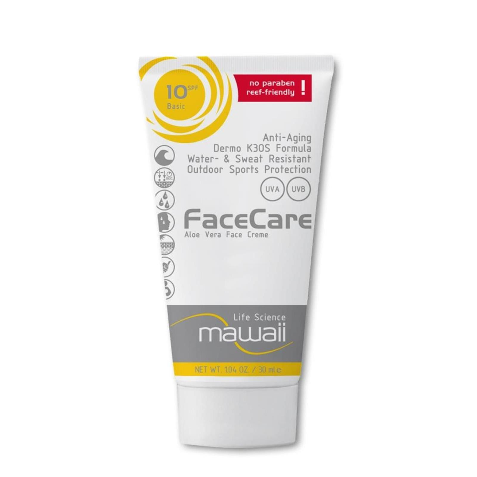 mawaii FaceCare SPF 10  K3OS Formula 30ml