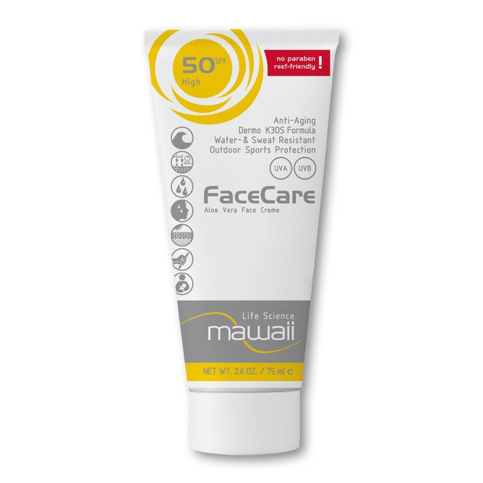 mawaii FaceCare SPF 50  K3OS Formula 75ml