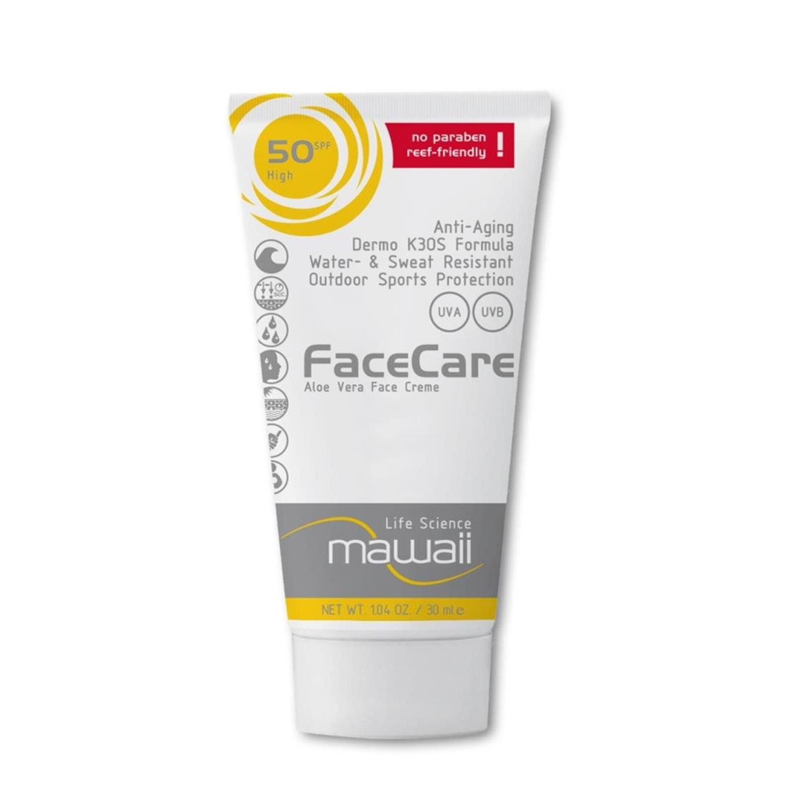 mawaii FaceCare SPF 50  K3OS Formula 30ml