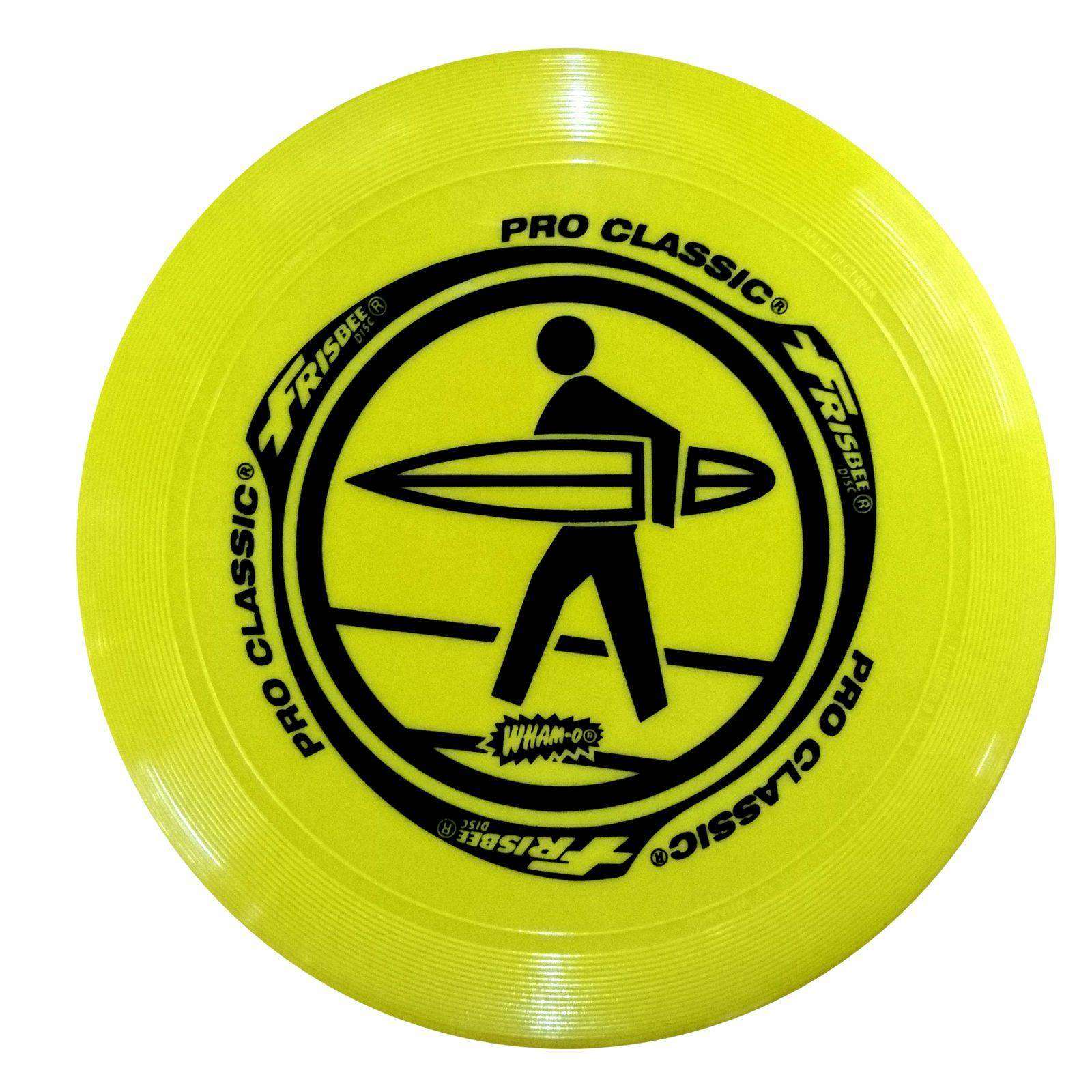 WHAM-O FRISBEE Wurfscheibe Pro-Classic 130g Gelb