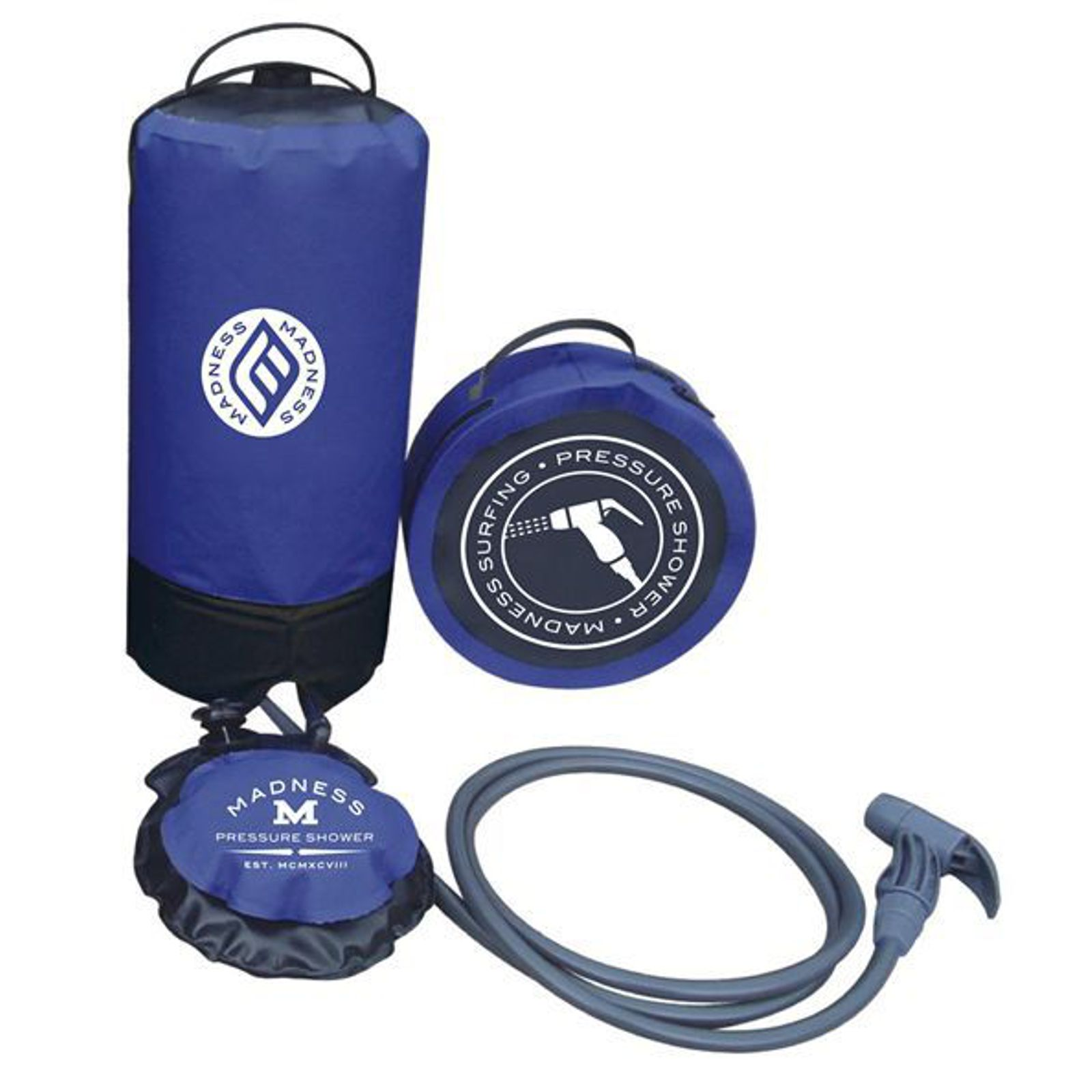 MADNESS Pressure Shower mobile surf Dusche 10-15 L