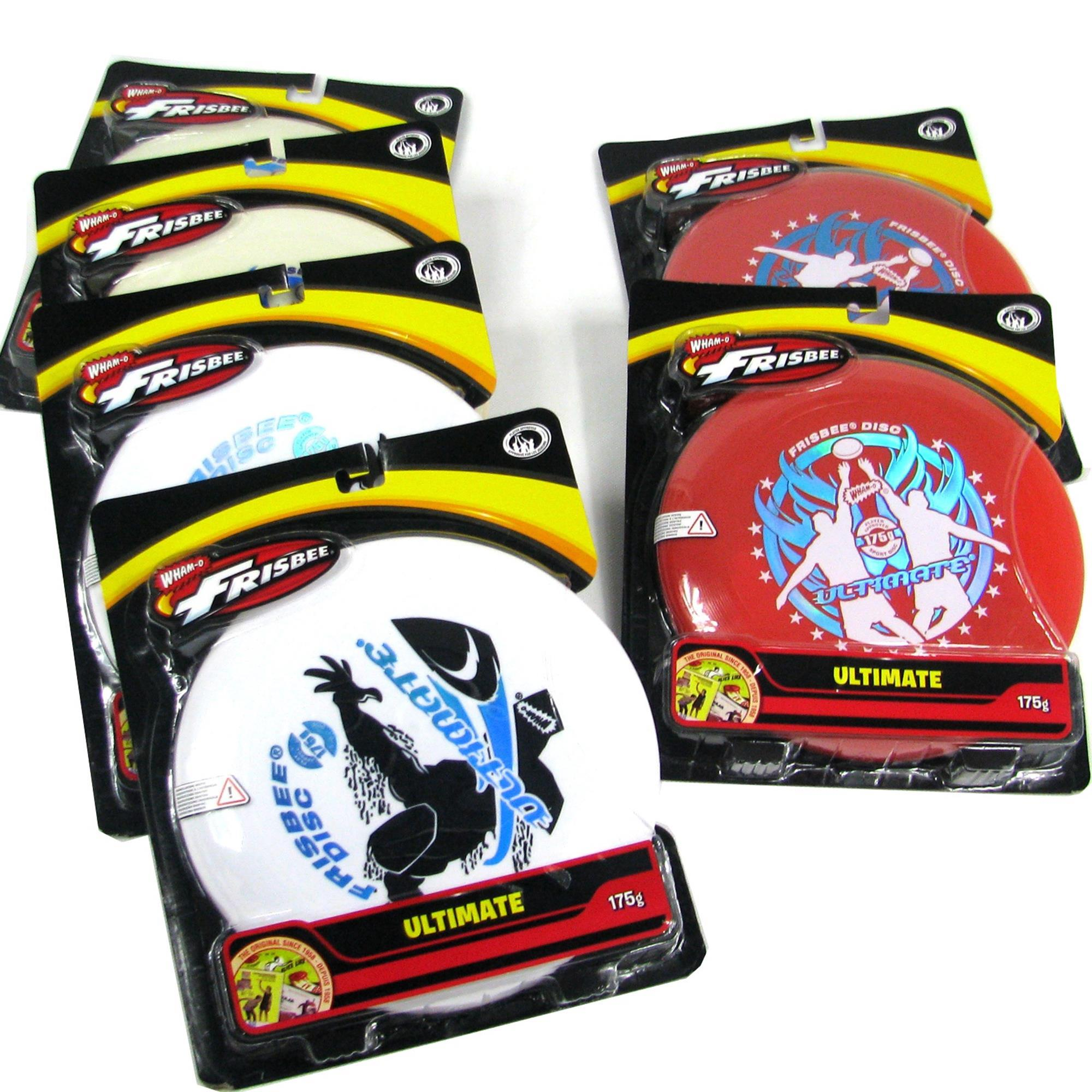 6x WHAM-O FRISBEE Wurfscheibe Ultimate 175g